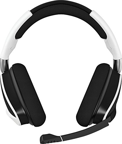 Corsair Void PRO RGB Gaming Headset (PC, USB, Wireless, Surround, Dolby 7.1), Farbe:Weiß (White), Serie:Wireless Usb-wireless-headset