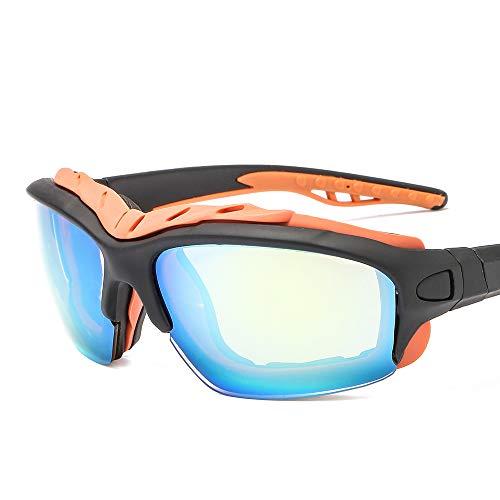 AMINE Abnehmbare Bein Sonnenbrille direkt ab Werk Sportspiegel grenzüberschreitend heißer Outdoor-Reitbrille abnehmbare Tempel Sonnenbrille (D)