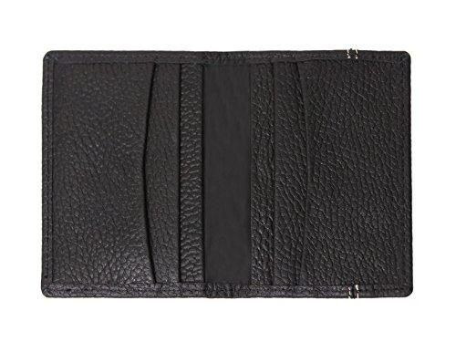 Nagelneue schwarze Luxuxfrauen reale lederne Mappe Großer Kapazitäts-Mappen-Geldbeutel, Identifikation-Halter, Münzen-Halter, Geld-Tasche, mit Reißverschlusstasche u. 12 Karten-Taschen (Geschenk-Kaste T1