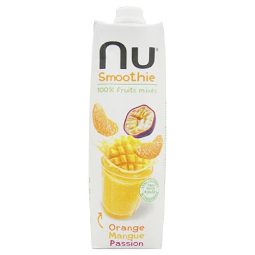 Nu Smoothie Orange Mangue Passion sans Gluten 1 L