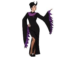 Atosa 18721 Disfraz malvada adulto XS-S, talla mujer
