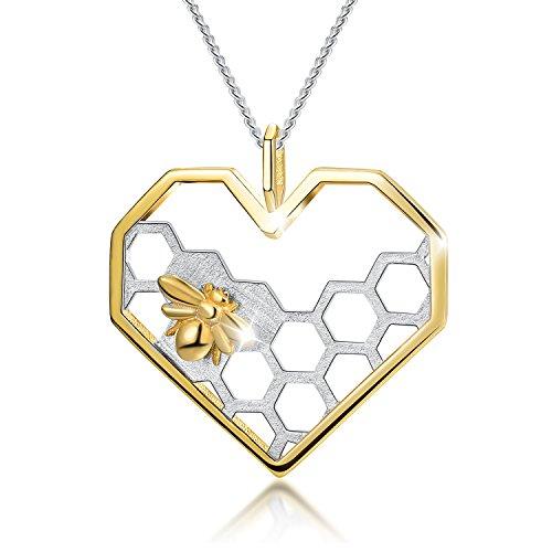 Lotus Fun Gifts - Collar de plata de ley 925...