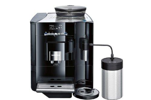 Siemens TE717509DE Libera installazione Macchina per espresso 2.1L 2tazze Nero, Acciaio inossidabile macchina per caffè