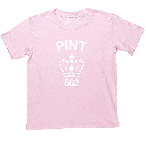 hippowarehouse-camiseta-de-manga-corta-para-nina-rosa-rosa-13-anos