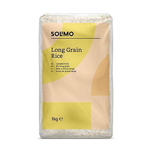 Amazon- Marke: Solimo Langkornreis 4er-Pack (4x1kg)
