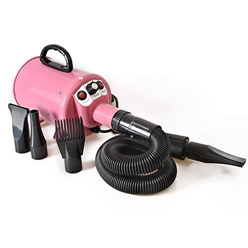 Billig Hund Grooming Dryer Pet Hair Dryer Blume 220V110v 2200W Pink -