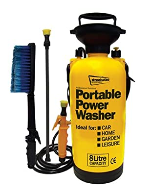 Street Rhino Puma 8 Litre Portable Power Pressure Washer by Street Rhino