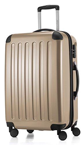 Hauptstadtkoffer-valise trolley série alex 74 l reisegutschein champagne brillant - 20