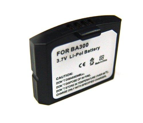 Batterie de rechange avec bA 300 140mAh ! pour casque sennheiser : iS 410/sans rS 4200 effet de mémoire li-polymère, pDA-punkt