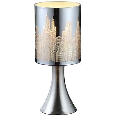 Tischlampe Tisch Lampe Leuchte Licht Beleuchtung Tischleuchte ESTO Skyline 922065 von Esto bei Lampenhans.de