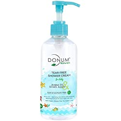 Tear Free Body Wash For Baby Sulphate Free Antioxidant Rich pH Balanced With Green Apple Argan Oil & Vitamin F Chemical Free