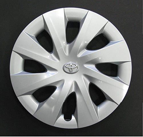 R.Vi.Autoforniture srl Set 4 Coppe Ruota Corpicerchio Borchie Toyota Yaris I S r 14 Logo Cromato