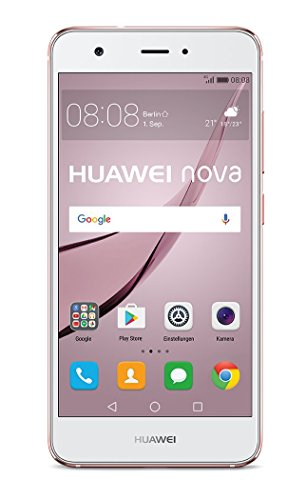 "Huawei 51090YLU ""nova"" Smartphone, 12,7 cm (5 Zoll), 32GB, Dual SIM, 12MP Kamera, Android rosegold"