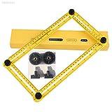 ELECTROPRIME 5289 Metal Screw Ruler Measuring Instrument Folding Slide Scale Adjustable H