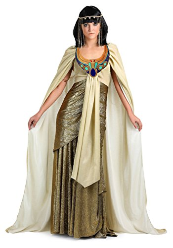 Women's Plus Size Golden Cleopatra Fancy Dress Costume - Cleo De Nile Kostüm Für Erwachsene