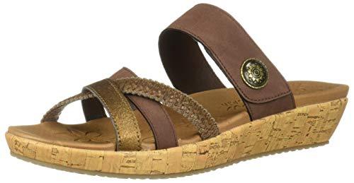 Skechers Women's Brie-Multi Strap Slide Sandal Womens Multi Strap