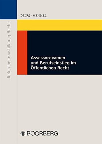 Assessorexamen und Berufseinstieg im Öffentlichen Recht