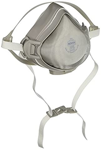 Respirator Assembly CFR-1 Half Mask for Welding Complete with One N95 Filter, Size Large by North