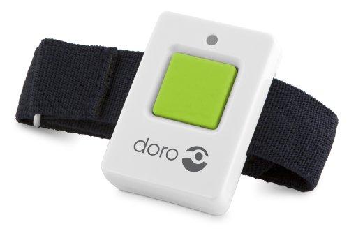 Doro Secure 350 Schnurgebundenes Großtastentelefon mit Notruf-Alarmgeber weiß - 7