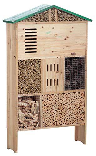 Preisvergleich Produktbild Große Hotel Haus Insektenhotel aus Holz