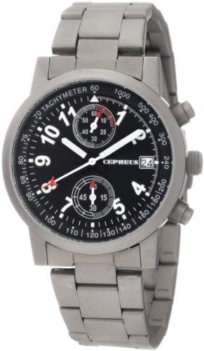 CEPHEUS CP505-121 Herrenchronograph Titanlook