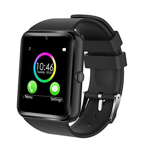 YAMAY Bluetooth Smartwatch Fitness Uhr Intelligente Armbanduhr Fitness Tracker Smart Watch Sport Uhr mit Kamera Schrittzähler Schlaftracker Romte Capture Kompatibel mit Android Smartphone (Sport-uhren)