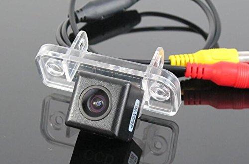 Sunshine Fly 170 Grad CCD Wasserdicht Nachtsicht Einparkkamera Kamera Einparkhilfe Farbkamera Rückfahrsystem Auto Rückfahrkamera für Mercedes Benz SLK R171 2004~2011
