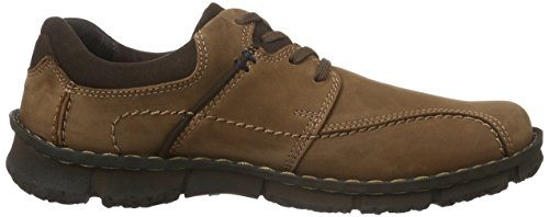 Josef Seibel Mens Willow 05 Scarpe Stringate Brogue Marrone (castagne / Moro 176)