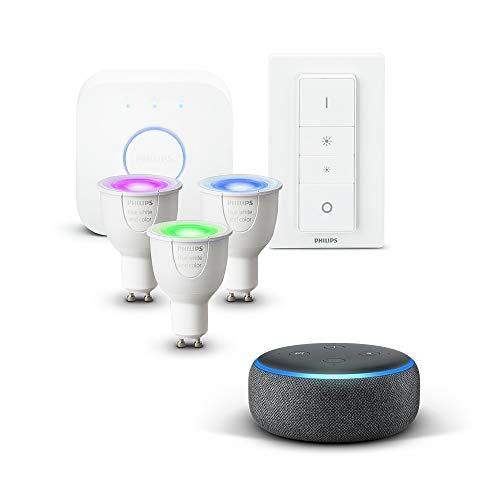 Echo Dot + Kit de démarrage Philips