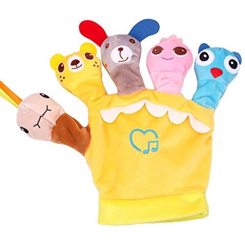 chsene Entwicklung Lernspielzeug Bildung Spielzeug Gute Geschenke,Nette Karikatur-Tierpuppe-Kinderhandschuh-Handpuppe-weiche Plüsch-Spielwaren ()