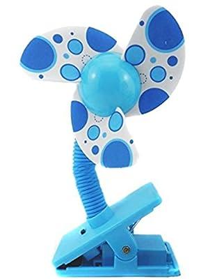 Suerte Se bebé clip-on Mini cochecito cochecito Ventilador para ventiladores de refrigeración para cuna con batería para cunas para bebé playpens
