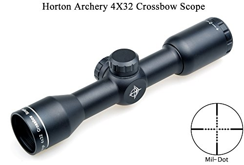 Eagle Eye. Horton Tir à l arc Crossbow Sight 4x32 (25.4mm) Compact Mil Dot 957d8ea99f09