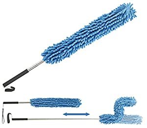 Sichler Haushaltsgeräte Staubwischer: Formbarer Mikrofaser-Staubwedel mit...
