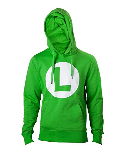 Nintendo Hoodie -2XL- Logo L, grün