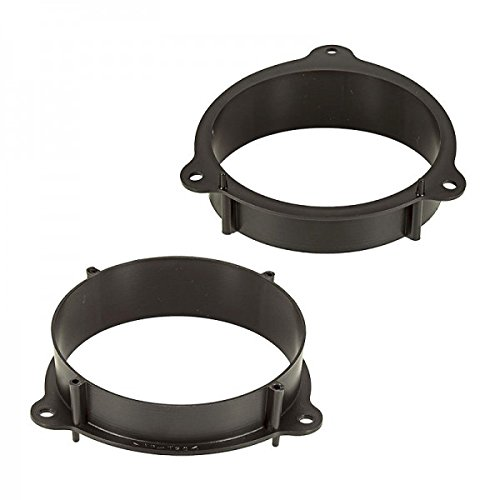 le haut-parleur 165 mm pour porti/ère CHP adaptateur de haut-parleur et couronnes /à polir pour renault kangoo et mercedes citan /à partir de 2012