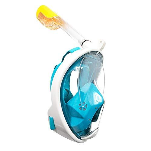 Demarkt Máscara de Buceo,Máscara Snorkel Máscara para Buceo, la Máscara de Snorkel de cámara Instalable para los Adultos,Adecuado para Interiores y Exteriores