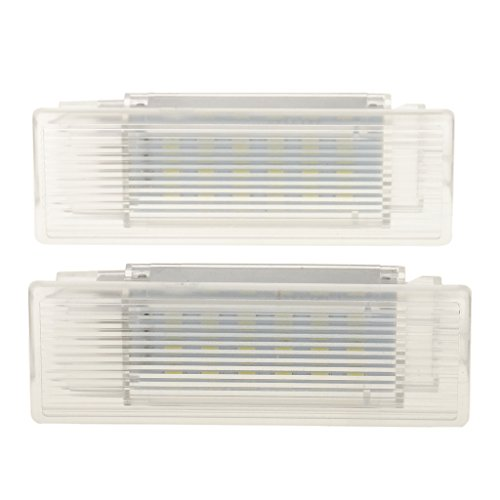 Gepäck Bmw (Gazechimp 2pcs 18-geführtes Außenleuchten Kofferraum Licht)