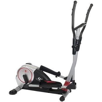 christopeit crosstrainer ergometer cx 6 silber schwarz 9126 sport freizeit. Black Bedroom Furniture Sets. Home Design Ideas