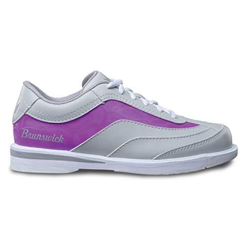 Brunswick Intrigue Damen Bowlingschuhe Gr. 41 Grau/Violett