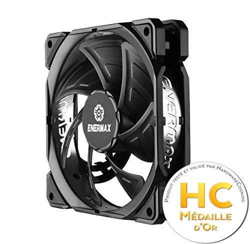 Enermax UCTB9 - Ventilador para Caja de Ordenador (13 dB, 46.18 CFM, 1.8 W), Negro