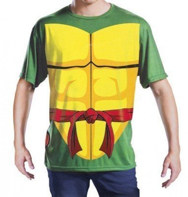 Disguise Tmnt Teenage Mutant Ninja Turtles Raphael Erwachsenen L/XL Kostüm T-Shirt (Ninja Turtles Shirt Kostüme)