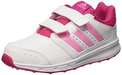 adidas LK Sport 2 CF K, Chaussures de Running Compétition Fille, Pink/Weiß/Mint, 28 EU