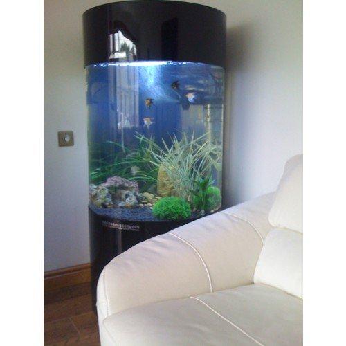 Spalte Zylinder Aquarium Fisch Tank - 3