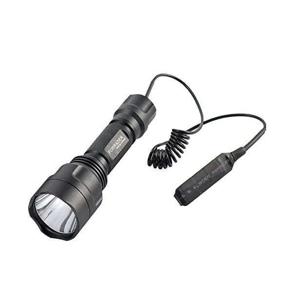 Forrader Cree XM-L T6 scope mount lamping lamp kit hunting gun air rifle light