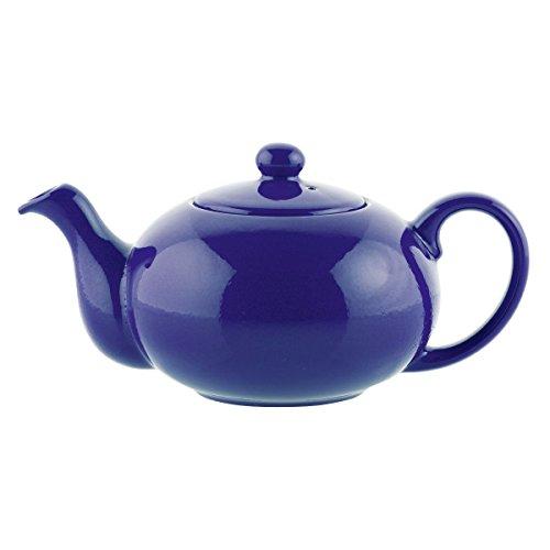 Fun Factory Teekanne / Kaffeekanne 0,8l royal blau / Keramik
