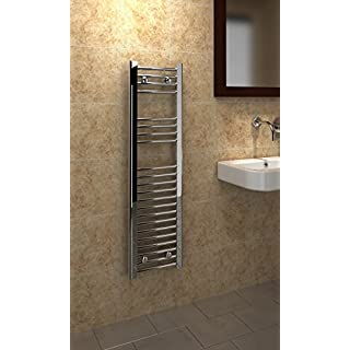 Kudox 5060235346170 Trade Flat Towel Rail - Chrome