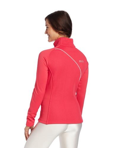 Spyder Damen Essential mid Gewicht Core Sweater Flirt/White/Splash