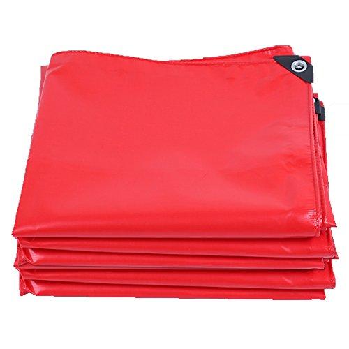 Gyh impermeabile tarpaulin -thicken tarpaulin impermeabile heavy duty protezione solare palco per auto panno da pioggia impianto da giardinaggio protezione solare pvc, spessore 0,45 mm, 420 g/m²