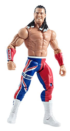 Mattel WWE Summer Slam British Bulldog Figure by