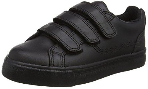 Kickers - Tovni Trip, Sneaker basse Unisex – Bambini Nero (Black)